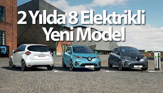 Renault'dan Tesla ve VW'e rakip elektrikli otomobil geliyor