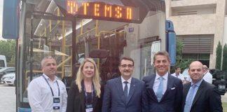 Enerji Zirvesi'nde TEMSA MD9 ElectriCITY otobüsüne büyük ilgi!