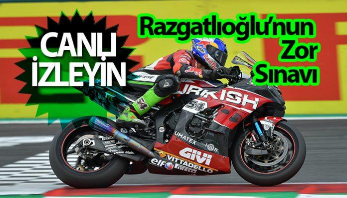 Türk pilot, Razgatlıoğlu'nun yarışını hangi kanal canlı yayınlayacak!