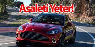 Spor otomobil ruhuna sahip Aston Martin'in ilk SUV'u DBX