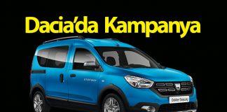 Dacia'da sıfır faiz ve 100 bin TL kredi fırsatı