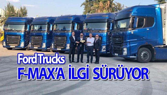 Ocak Trans'ın tercihi de Yılın Kamyonu Ford Trucks F-MAX