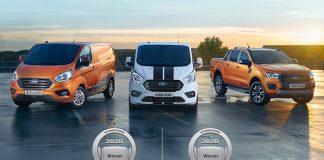 2020 Yılın Ticari Aracı ve Yılın Pick-up'ı ödülleri Ford'un!