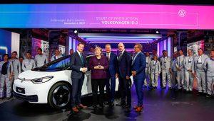 Volkswagen'in elektrikli modeli ID.3