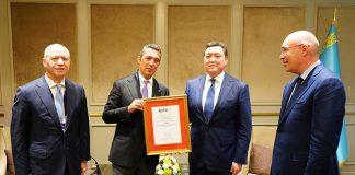 Otokar Kazakistan'da Otokar Central Asia'yı kurdu