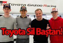 Toyota,WRC 2020 sezonunda yarışacak pilotlarını açıkladı