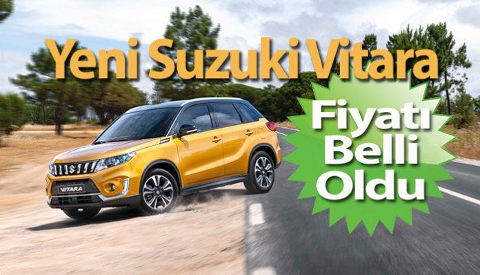 Efsane SUV yeni Suzuki Vitara Türkiye'de
