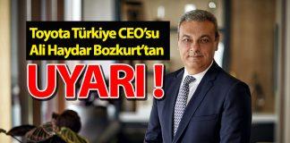 Toyota Türkiye CEO'su Bozkur