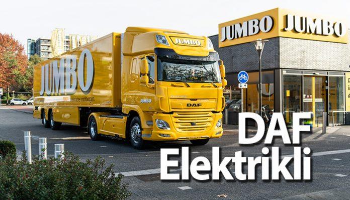 DAF CF Electric, elektrik gücüyle 150 bin kilometre katetti