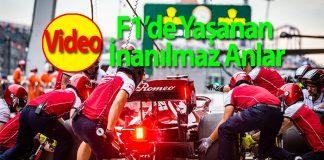 Formula 1'de yaşanan en dramatik 10 olay