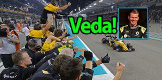 Renault'da buruk bir veda; teşekkürler Nico!