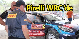 Pirelli Formula 1'den sonra WRC'nin de lastik tedarikçisi oldu