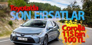 Toyota yılın son kampanyası