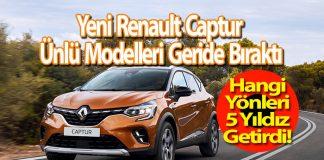 Yeni Renault Captur Test