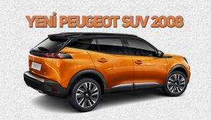 yeni Peugeot SUV 2008