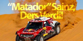 Dakar Rallisi-Carlos Sainz