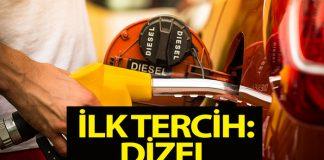 Türk halkı dizel otomobillerden vazgeçmiyor!