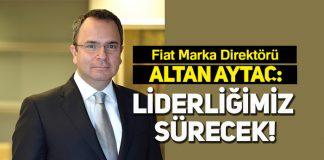 Fiat, 2019 Türkiye otomobil ve hafif ticari araç pazarının lideri