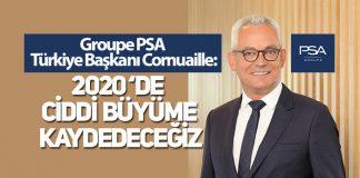 Groupe PSA Türkiye Başkanı Olivier Cornuaille