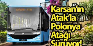 Karsan Atak otobüsleri