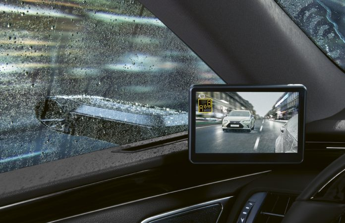 Lexus'un dijital ayna teknolojisi