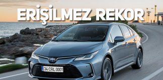 Dünyanın en çok satılan binek otomobil modeli