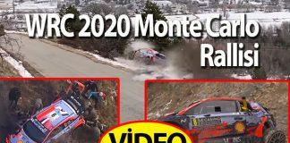 WRC 2020 Monte Carlo Rallisi