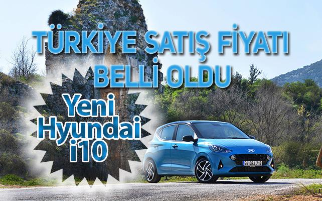 Hyundai Yeni i10 Türkiye'de kaça satılacak!