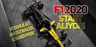2020 F1 Avustralya GP