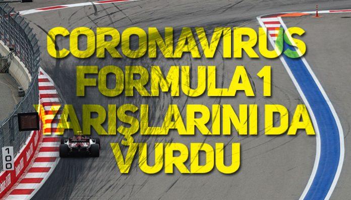 F1 Avustralya GP'si iptal