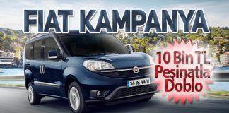 Fiat Professional'den 10 Bin TL Peşinatla Doblo fırsatı!