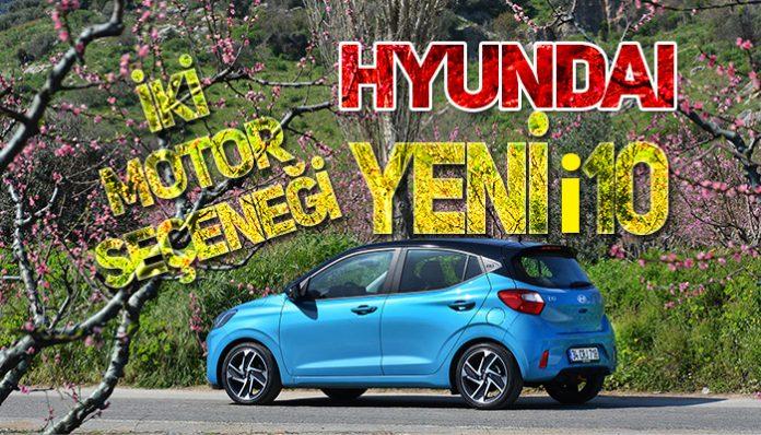 Hyundai Yeni i10 Türkiye'de satışa sunuldu