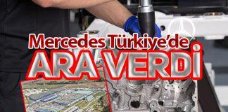 Mercedes-Benz Türk, Türkiye'deki Fabrikalarında üretime ara verdi