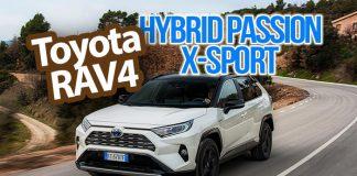 Toyota RAV4 Hybrid Passion X-Sport