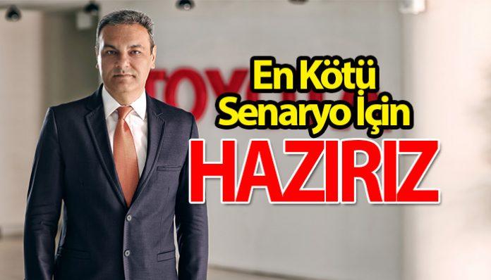 Toyota Türkiye Coronavirus'e karşı 3 senaryo hazırladı