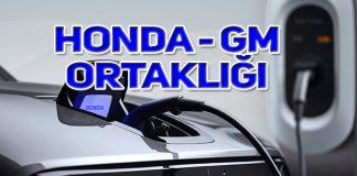 Honda ve General Motors elektrikli otomobil için anlaştı