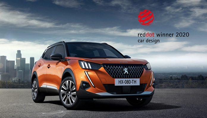 Peugeot'nun iki modeline 2020 Red Dot Tasarım Ödülü