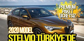 2020 Model Stelvio Türkiye'de