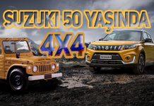Dört tekerlekten çekiş ile eş anlamlı Suzuki'nin 50. yılı