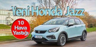 Yeni Honda Jazz Hibrit'ten hava yastığı devrimi!