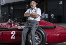efsane pilot Sir Stirling Moss
