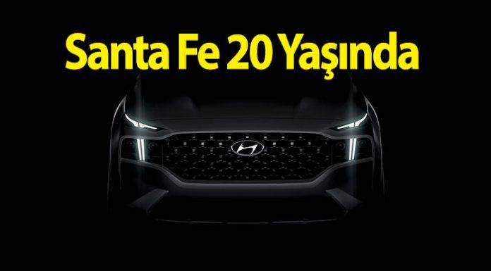 Hyundai Santa Fe'nin yirminci yaşı yeni bir modelle kutlanıyor