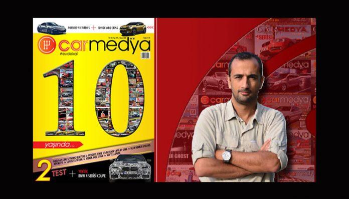 Dijital otomobil dergisi Carmedya