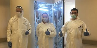 Türkiye'de Koronavirüsü 30 saniyede öldüren kabin üretildi!