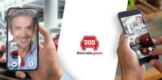 DOD'dan ikinci el otomobil pazarında görüntülü araç tanıtımı