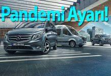 Mercedes Benz hafif ticari araçlarda bakım ve garanti süreleri uzadı!