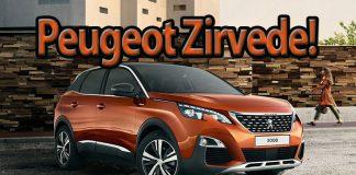 İthal araç satışında Peugeot Volkswagen'i geçti!
