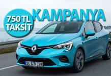 750TL Taksitle Renault kampanyası