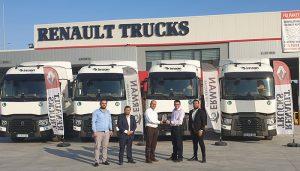 İmsan Group, yeni Renault Trucks çekicilerini tercih etti'