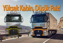 Renault Trucks yüksek kabinli çekiciler